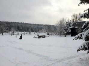 Winterlandschaft rund um das Kleine Vorwerk
