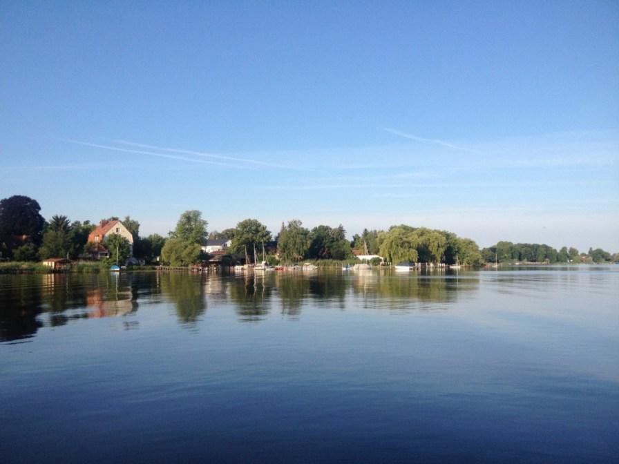 Herrliche Wasserlandschaft am Morgen