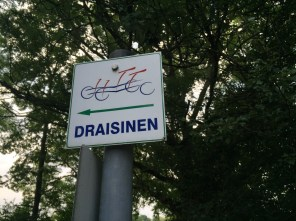 Draisinenstation in Vockerrode