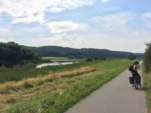 Elberadweg bei Coswig