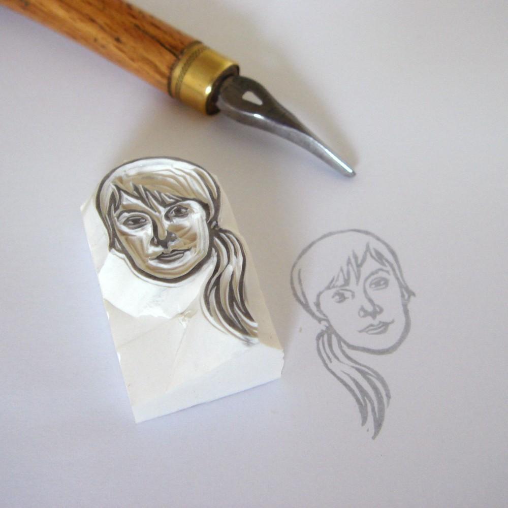 Fullsize Of Custom Logo Rubber Stamps