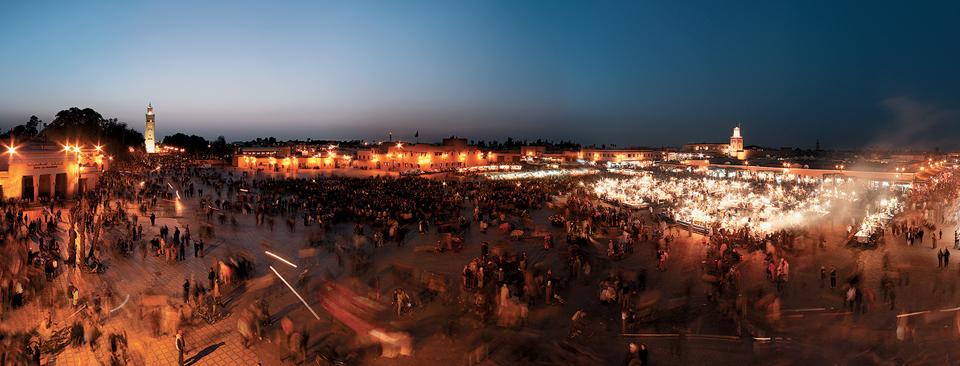 Plaza de Jamaa el Fna (Marrakech)
