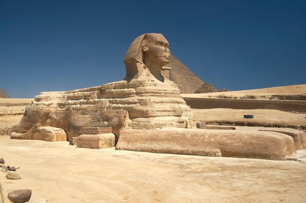 Gran Esfinge de Giza. ©Barcex
