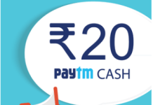 indiaspeaks.net Free Paytm Cash Offer