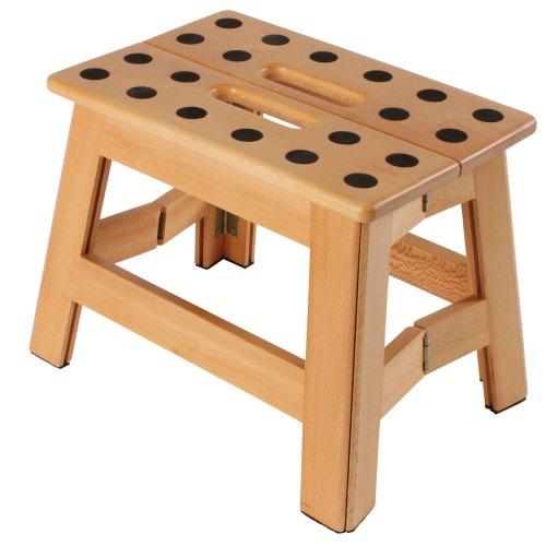 Medium Of Wooden Step Stool