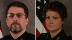 Officer Stephen Heimsness and Officer Stacy Troumbly