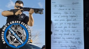Stockholm Syndrome: Woman Writes Letter Thanking Cop For Extorting Her