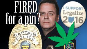 Cop Fired for Wearing Pro Marijuana Legalization Pin   CopBlock Radio