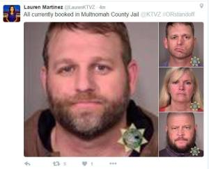 One Oregon Militia Member Shot Dead By FBI; Bundy and Several Others Arrested