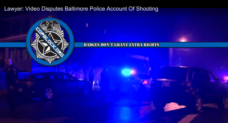 Baltimore Police Shooting Video