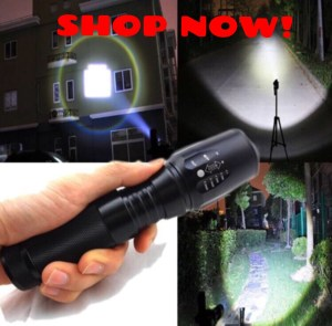 Attention people!! The G700 Flashlight is so bright it can blind a bear! This flashlight is indestructible and the brightest light you have EVER seen. Order yours now at 75% OFF: LIMITED time! Click Graphic NOW