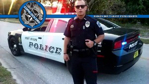 Florida Cops Harass; Extort Police Accountability Activist After He Steps Off Sidewalk To Avoid Debris