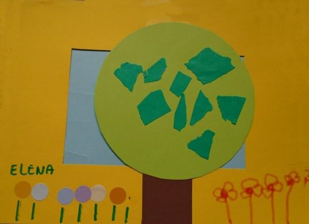 copacul lui elena cu bufnite