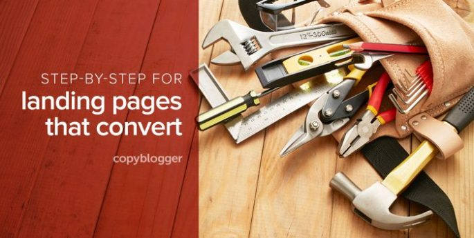 step by step for landing pages that convert