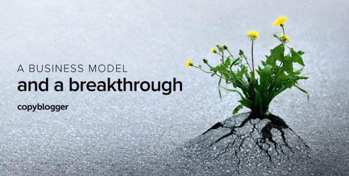 a business model and a breakthrough