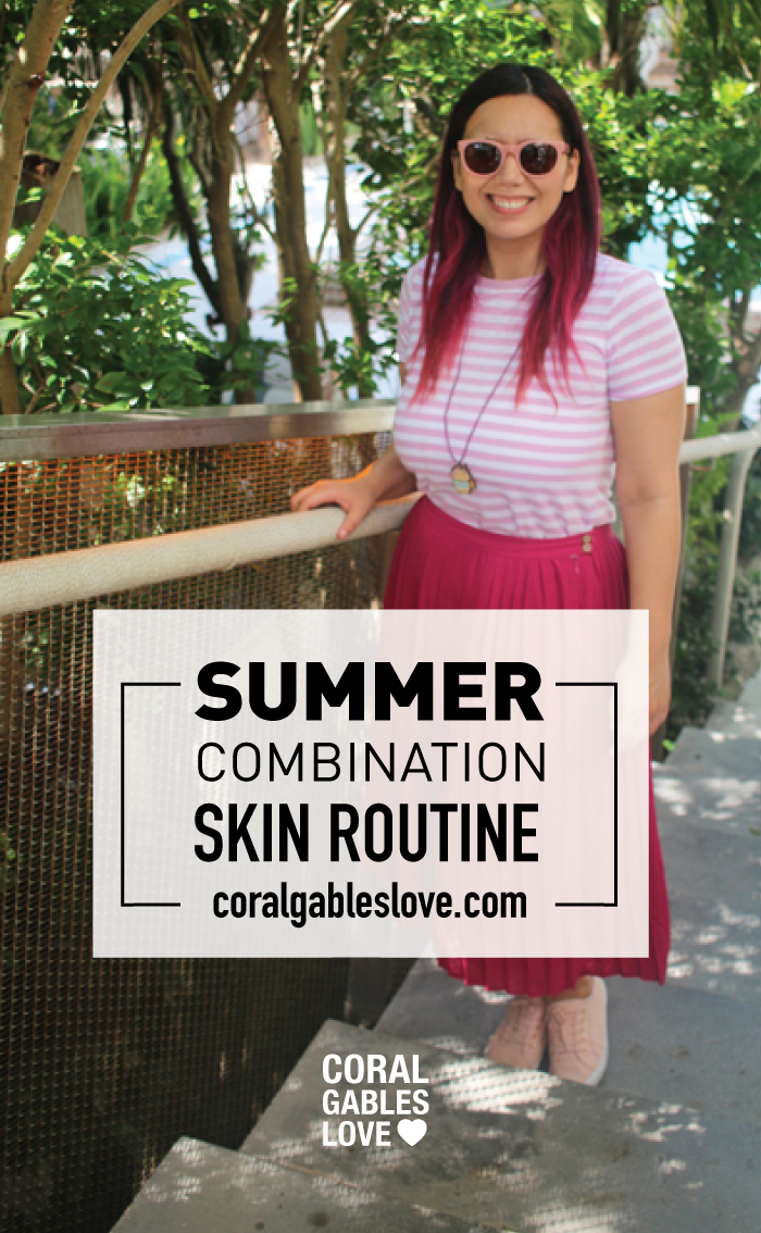 Combination Skin Routine for Summer in 迈阿密