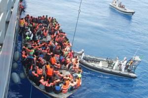 Immigrati salvataggio
