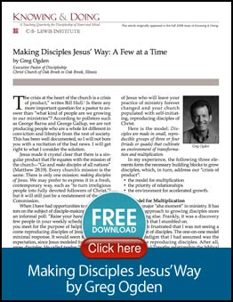 Making Disciples Article
