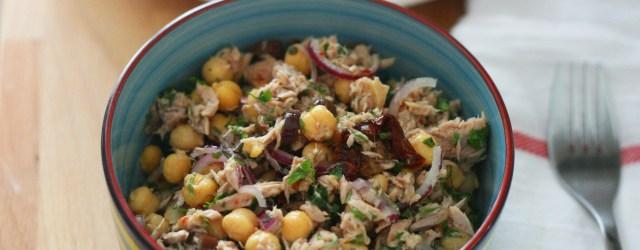 salata mediteraneana de ton cu naut1