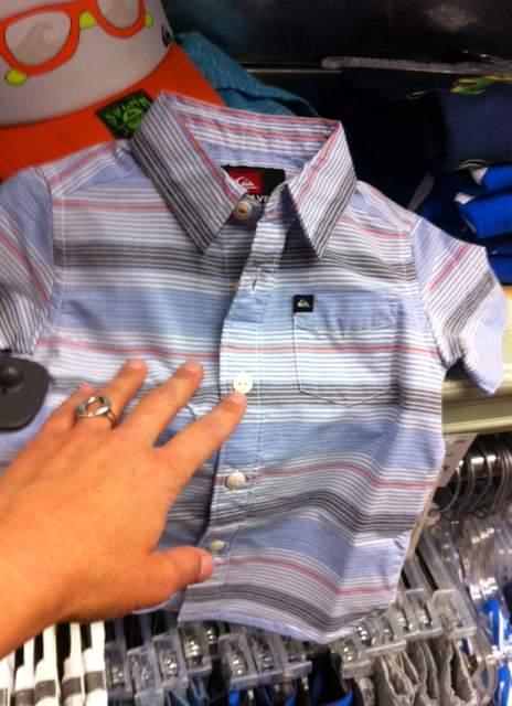 Quik kids shirt, Made in India