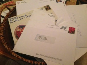 Christmas Letter Tradition