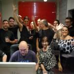 estudio atmosfera rec andujar - vivir mi vida cover flamenca - coro rociero la borriquita - making off videoclip (5)