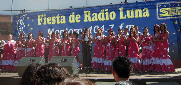 Coro Rociero de La Borriquita - Fiesta Radio Luna