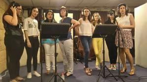 Making Videoclip of Coro Rociero La Borriquita (1)