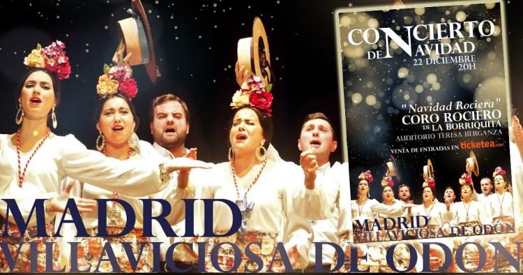 Concierto en Villaviciosa de Odón (Madrid) – Coro Rociero de La Borriquita.