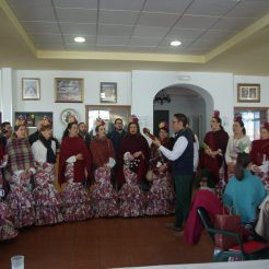 xv aniversario coro rociero borriquita virgen de la cabeza cerro del cabezo peregrinación (27)