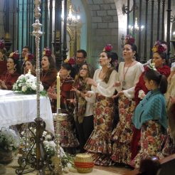 xv aniversario coro rociero borriquita virgen de la cabeza cerro del cabezo peregrinación (46)