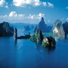 Quell'Eden segreto  nella baia di Phang Nga