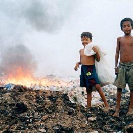La discarica di Phnom Penh,  un inferno per i bambini