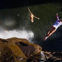 Tuffarsi nelle Victoria Falls  la folle impresa di Duque