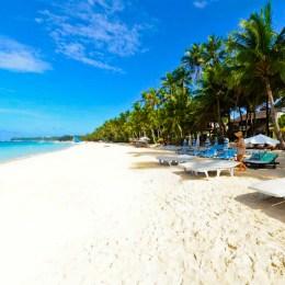 Boracay, la White beach  più bella del mondo