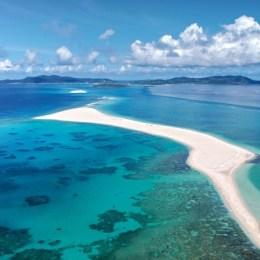 Il mare di Okinawa,  le isole splendenti del Giappone