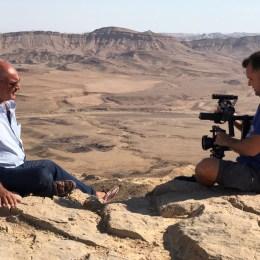 Il deserto di Maktesh Ramon,  la meraviglia del Negev