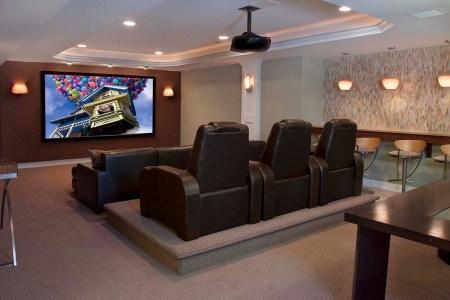media room furniture seating