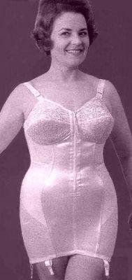 plus size women wearing girdles