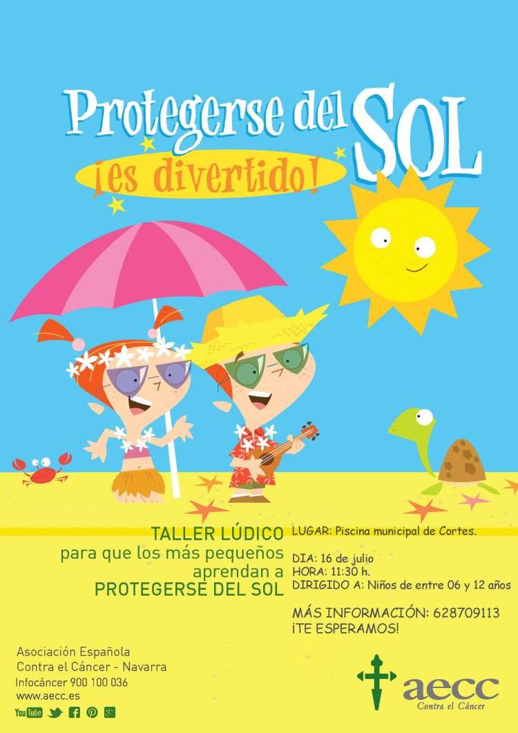 protegerse del sol es divertido. cortes 2018