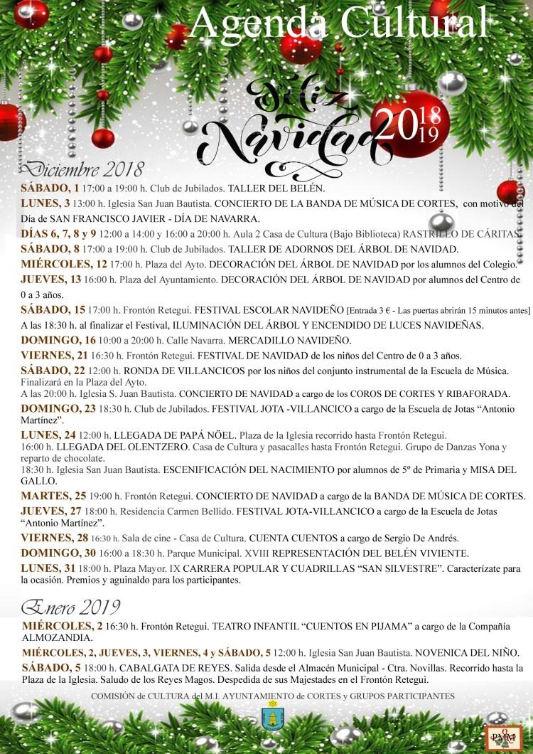 AGENDA NAVIDAD 2018-2019