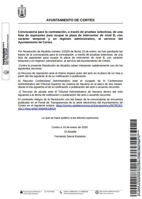 2020-01-13 11_17_44-20200110_Publicación_Edicto Convocatoria Interventor Ayuntamiento de Cortes.pdf