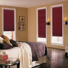 Cortinas Roller Black Out moradas