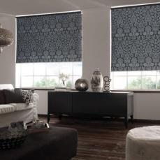 Cortinas sunscreen impresas fino