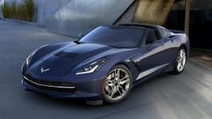 2016 Corvette in Night Race Blue Metallic