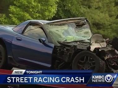 C5 Corvette Z06 Involved in Street Racing Blamed in fiery Kansas Crash
