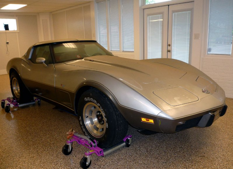 EBAY Find – 1978 Silver Anniversary Corvette with only 4.1 Miles!