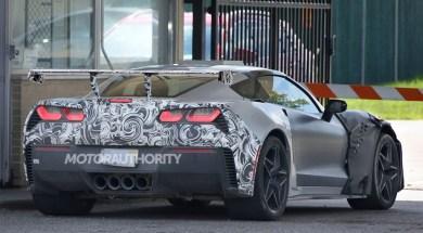 2018 Corvette ZR1 Shows Off Massive Rear Wing