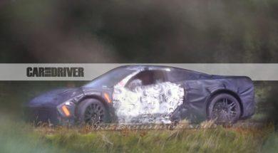 [SPY PHOTOS] Meet the 2019 Mid-Engine Corvette in its Body!