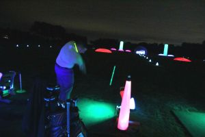 the cosmic night golf range